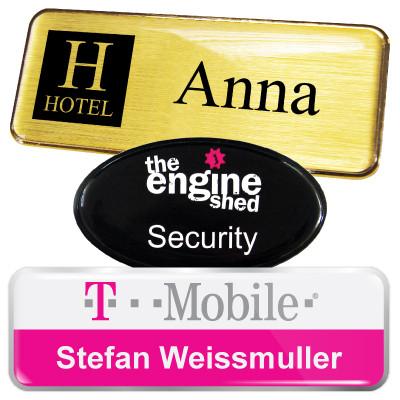 personalised name badges name badges international staff name